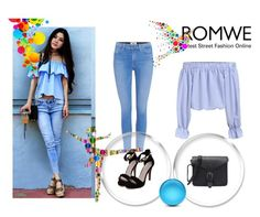 """Romwe 2/VI"" by nermina-okanovic ❤ liked on Polyvore featuring Paige Denim and romwe"