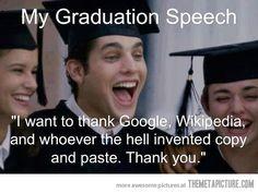 Not my speech!!!
