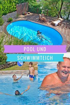 Pool und Schwimmteich - Für jeden Hausbesitzer realisierbarer Wunschtraum...