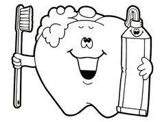 69 Best Dental Coloring Pages images | Dental health, Oral health, Teeth