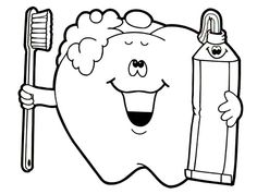 1000 Images About Dental Coloring Pages On Pinterest