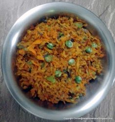 kalakkalsamayal: carrot thuvatal the easiest and tastier curry Indian Food Recipes, Vegetarian Recipes, Vegetable Curry, South Indian Food, Stir Fry, Pickles, Carrots, Fries, Side Dishes