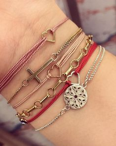 ALEX AND ANI Kindred Cord Collection | ALEX AND ANI Providence Collection | RED Kindred Cord hearts |Love • Joy • Light
