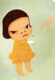 Too Young to Die - Yoshitomo Nara.
