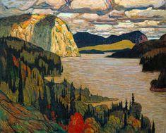 The Solemn Land, J.E.H. MacDonald
