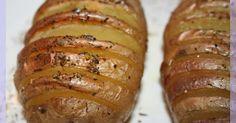 Recette - Pommes de terre au four à la suédoise   750g
