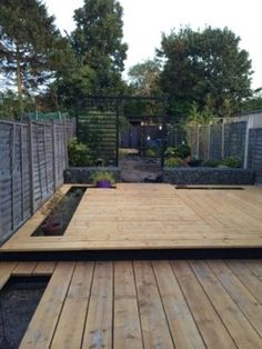 Scaffold board decking deck pinterest scaffold for 6 inch wide decking boards