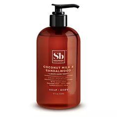 479b9c4318 Soapbox Coconut Milk   Sandalwood Liquid Hand Soap - 120z