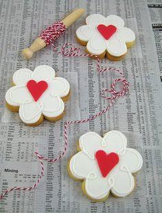 Flowers & hearts-2 favorites together!