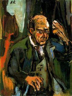 """ARTE, PINTURA Y GENIOS.: Oskar Kokoschka: """"El Freud de la pintura""""."""