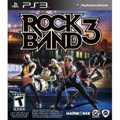 Platform: PLAYSTATION 3|Edition: Game                                                          Amazon.com                    Rock Band 3 is the third main release in the iconic video game series that challenges gamers to live out their Rock  Roll fantasies together in a band situation, both locally and online. The game features an ever expanding song list from every era of Rock  Roll history, easy to pick up yet challenging addictive Note Highway gameplay, compatibility wi