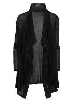 Helmut Lang jersey shawl