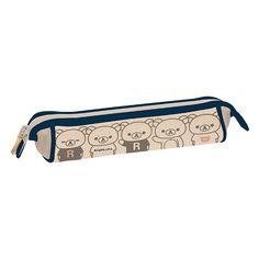 #Rilakkuma pen pouch ^^ がばっとオープンペンポーチ(リラックマ・紺)