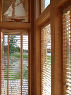 Wooden blinds made in Finland | Åland