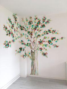 Decorazione nella sede di una associazione per famiglie In Loco, Home Decor, Decoration Home, Room Decor, Home Interior Design, Home Decoration, Interior Design