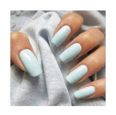 aqua blue long nails #manicure #aquablue