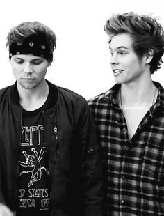 I want Luke to look at me the same way he looks at Ashton. Or I want to look at Ashton.