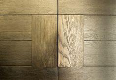 Flush wood detail
