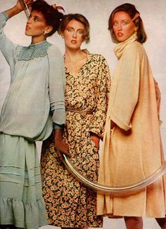 Ladies Home Journal - September, 1977 1977 Fashion, September, Journal, Lady, Casual, Dresses, Style, Vestidos, Swag