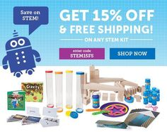 Teaching STEM doesn't have to be rocket science with Hatch STEM Kits! Shop now to get 15% Off + Free Shipping! #STEM