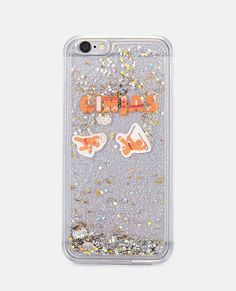<p>Find your holiday spirit with this iPhone 6/6s cellphone case featuring a clear body with a water glitter design, gingerbread man details, and quot;Gingasquot; written across the front.</p> <ul> <li>Man Made Materials</li> <li>Imported</li> </ul>