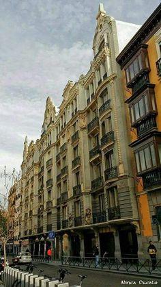 Calle de Hortaleza, Madrid España.