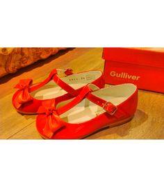 Comprar Merceditas charol rojo Gulliver para niña   Gran selección de calzado infantil y juvenil a tu alcance en Mi Gatito Pepo. #calzadoinfantil #zapatosniña http://www.migatitopepo.es/13-zapatos-nina-merceditas