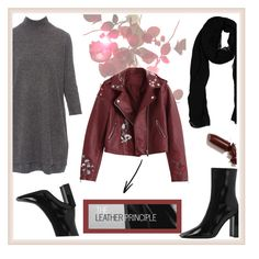 """""""Not only Black"""" by cecililaria on Polyvore featuring LAQA & Co., Jimmy Choo and Repeat"""