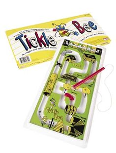 Tickle Bee - it is amazing how this used to entertain us