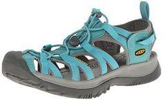 sandals: Keen Women's Whisper Sandal, Baltic/Neutral Gray, 11 M US Cute Sandals, Sport Sandals, Women's Sandals, Flats, Converse, Outdoor Woman, Fashion Sandals, Fashion Boutique, Bracelets