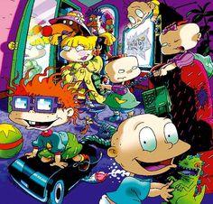 Pop Art Wallpaper, Wallpaper Stickers, Iphone Wallpaper, Rocket Power, Rugrats All Grown Up, Little Blessings, Nickelodeon, Miraculous Ladybug Funny, 90s Cartoons