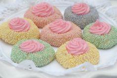 Easter Pastel Thumbprint Cookies