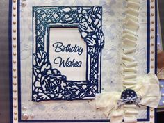 Julia Watts creates a stunning card using masks from Creative Expressions