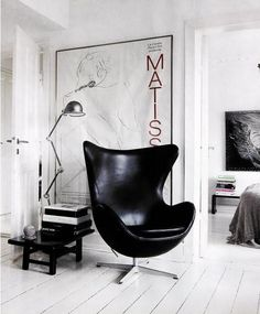 urbnite: Egg Chair by Arne Jacobsen