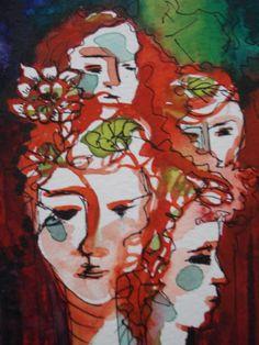 Puro*Acuarela y   tinta Watercolor/Ink