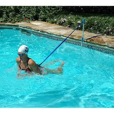 Home Swimmer stationary pool workout system
