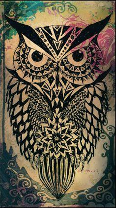 Owl wallpaper                                                                                                                                                     Más