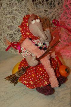 Купить Бабка Ёжка Обыкновенная - комбинированный, бабка ёжка, авторская ручная работа