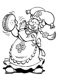 Plop The Gnome Fargelegging for barn. Tegninger for utskrift og fargelegging nº 21