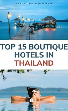 Looking for the best hotels in Thailand to spend your relaxing holidays? Here are the top luxury and boutique accommodations in the country! Thailand Vacation, Thailand Honeymoon, Thailand Travel Guide, Asia Travel, Hotels In Thailand, Croatia Travel, Bangkok Thailand, Hawaii Travel, Italy Travel