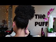 Hey Gorgeous!! I'm back again with another hair tutorial! This one shows how I achieve my sleek high puff! A high puff is my go-to hair style when my curls a...