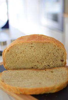 Рецепт хлеба на закваске Дрожжи, которые вы не чувствуете в этом хлебе (всего 1 г на 1/2 муки). И их добавление ускоряет весь процесс приготовления хлеба Banana Bread, Recipies, Baking, Food, Recipes, Bakken, Rezepte, Bread, Meals