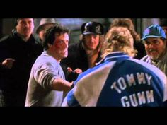 Sylvester Stallone and Tommy Morrison in Rocky V Rocky Series, Rocky Film, Great Movies, New Movies, Tommy Morrison, Training Montage, Burt Young, Cash Today, Childhood Movies