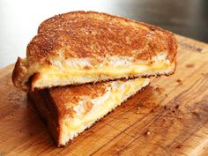 The classic grilled cheese sandwich in its ultimate form: toasted on the inside and out (to add buttery flavor and promote even melting), and cooked low and slow for deep, even browning.