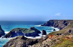 British Hikes Lizard Coastal Hike Distance: 7 miles  Get sea and sun on this hike along Britain's southern coast. The walk makes a two and a half hour loop, starting and finishing at Cornwall's gorgeous Kynance Cove.
