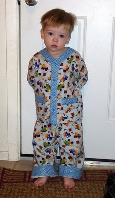 Oliver + S Sleepover Pajamas. What a cutie!