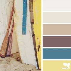 today's inspiration image for { beached hues } is by @thebungalow22 ... thank you Steph for another fresh + inspiring #SeedsColor image share!