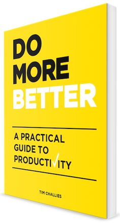 How would you define productivity? Most of us base it on how much we accomplished for the day or how many sales we made. Tim Challies, author of Do More Better, challenges us as Christians with a m...