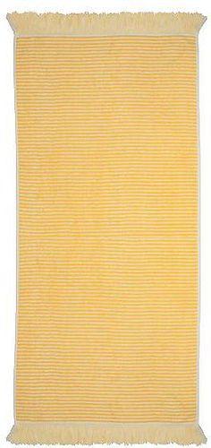 Tolle Handtücher »Urban« der Marke pad. Die gestreiften Handtücher bereichern Ihr Badezimmer um ein Vielfaches. Mit dem praktischen Kordelaufhänger, den leuchtenden Farben und den pflegeleichten Eigenschaften punkten die Tücher auf ganzer Linie. Zusätzlich schließt das Handtuch mit schmückenden Fransen ab. Die flauschige Qualität Jacquard-Zwirnfrottier ist aus 100% Baumwolle gefertigt, dadurch ...