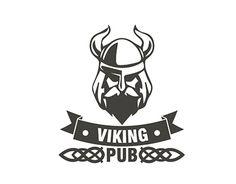 "Check out new work on my @Behance portfolio: ""Logo Design for Viking PUB"" http://be.net/gallery/37913671/Logo-Design-for-Viking-PUB"